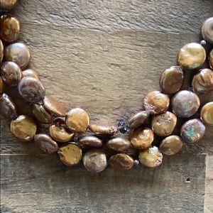 Silpada Bronze Coin Collector Necklace
